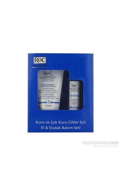 Roc Dermatologic Enydrial El Kremi Ve Dudak Bakım Seti 50 Ml