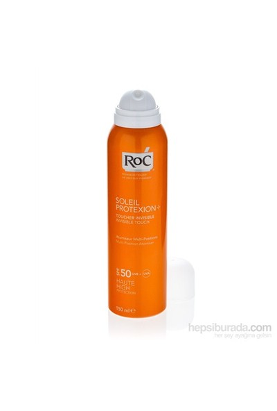 Roc Soleil Protexion Invisible Touch Spray Spf 50 150 Ml