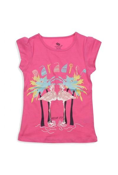 Modakids Wonder Kids Kız Çocuk Kısa Kol T-Shirt 010-3102-022