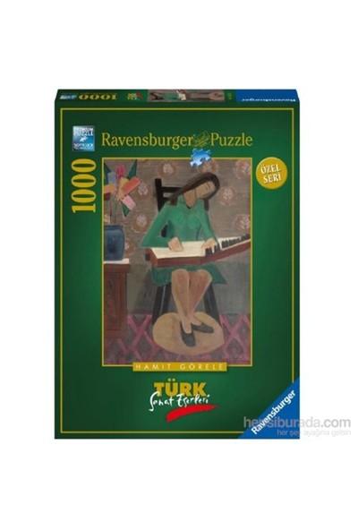 Ravensburger 1000 Parçalı Puzzle Kanun Çalan Kız / Hamit Görele Türk Sanat Eserleri-193332