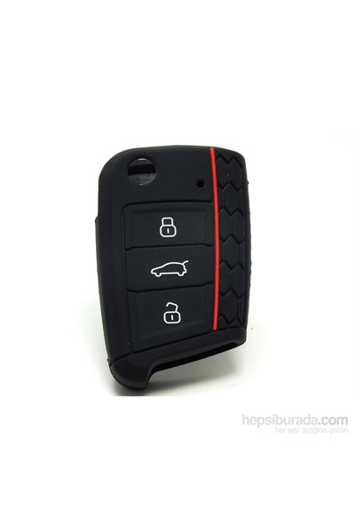 Gsk Volkswagen Golf 7 Kumanda Kabı Koruyucu- Siyah- 2012-2015