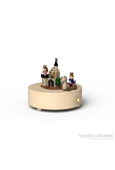 Wooderful Life Prens ve Prenses Müzik Kutusu