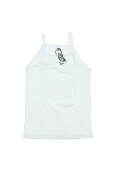 Modakids Gümüş İç Giyim 6'Lı Kız Çocuk İp Askılı Atlet 040-3062-027