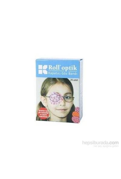 Roll Optik Kapatıcı Göz Bandı 20 Adet