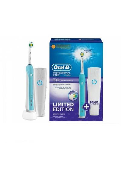 Oral-B Şarj Edilebilir Diş Fırçası Professional Care 700 Mavi