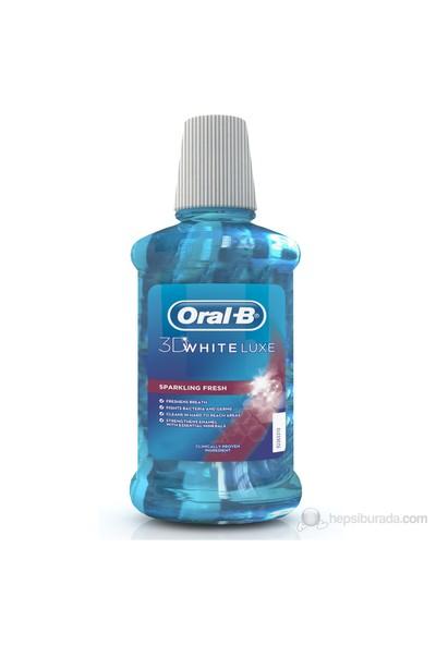 Oral-B Ağız Çalkalama Suyu 3 Boyutlu Beyazlık Luxe 250 ml