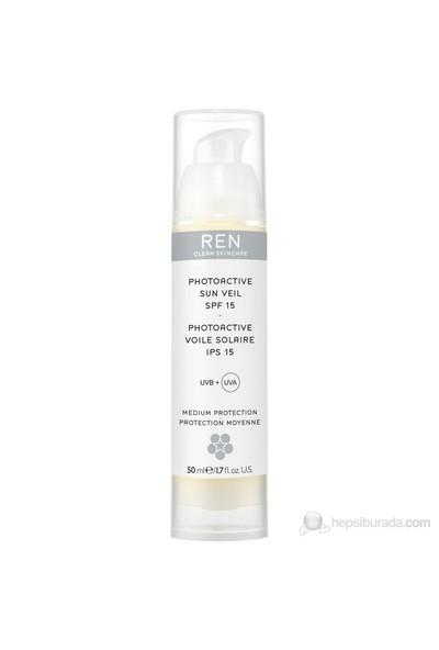 REN Photoactive Sun Veil SPF 15 Gündüz Nemlendiricisi - 50 Ml