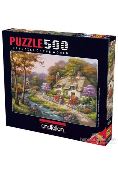 Anatolian Konakta İlkbahar - 500 Parça Puzzle