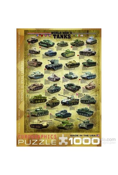 1000 Parça İkinci Dünya Savaşı Tankları Eurographics