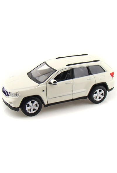 Maisto Jeep Grand Cherokee 2011 Model Araba 1:24 Special Edition Beyaz