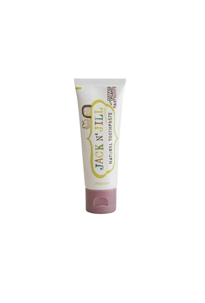 Jack N' Jill Natural Calendula Toothpaste Raspberry Organik Ahududu Aromalı Diş Macunu