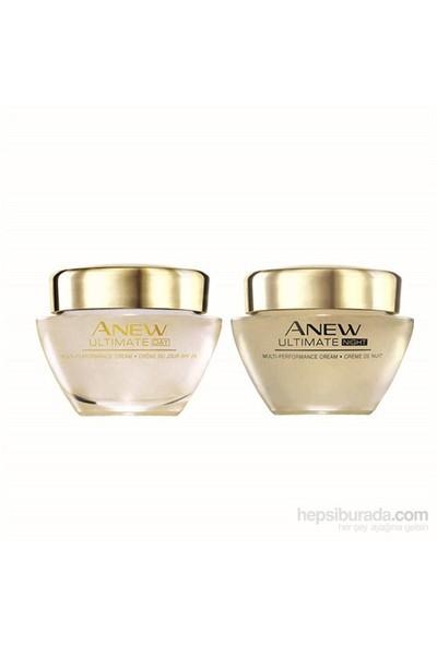 Avon Anew Ultimate Multi-Performance 45+ Yaş Gece+Gündüz Kremi