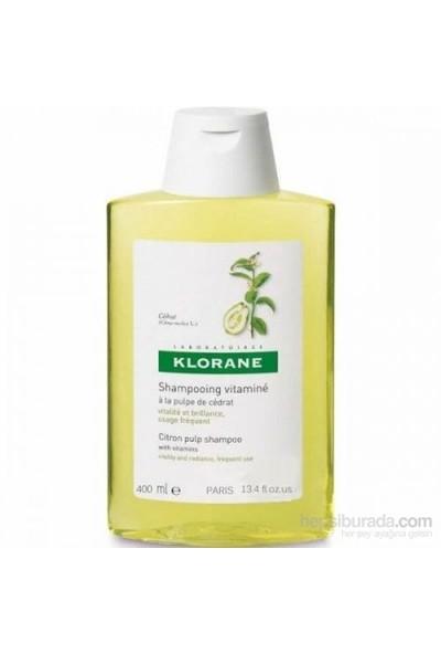 Klorane Shampooing Vitamine A La Pulpe Cedrat 400 Ml - Turunçgiller Özlü Bakım Şampuanı