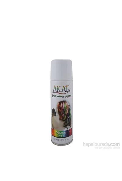 Akat Hair Color Sprey 150 Ml Beyaz