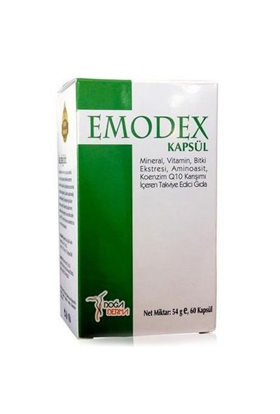 Emodex Kapsül 60 Tablet