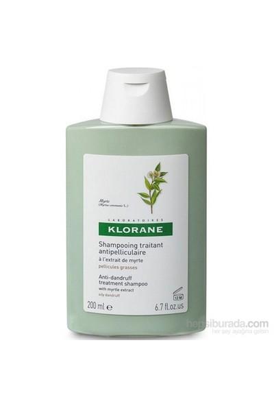 KLORANE Shampooing myrte 200 ml - Mersin bitkisi ekstreli yağlı kepek şampuanı