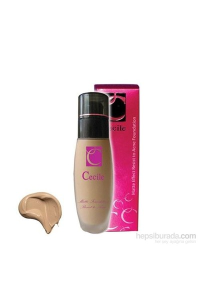 Cecile Resist to Acne Foundation 04