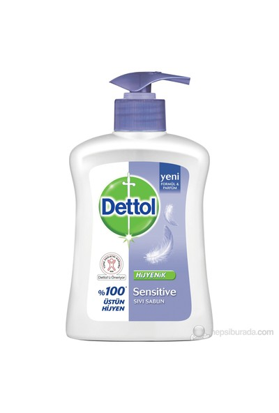 Dettol Sıvı Sabun 200ml Sensitive