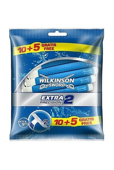 Wilkinson Extra2 Precision Kullan-At Tıraş Bıçağı 15Li