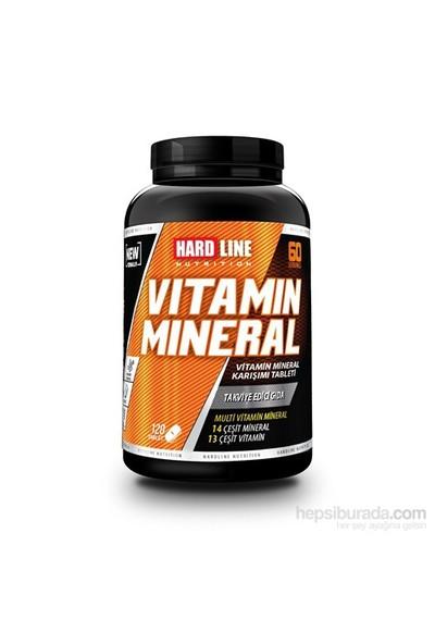 Hardline Nutrition Vitamin Mineral 120 Kapsül