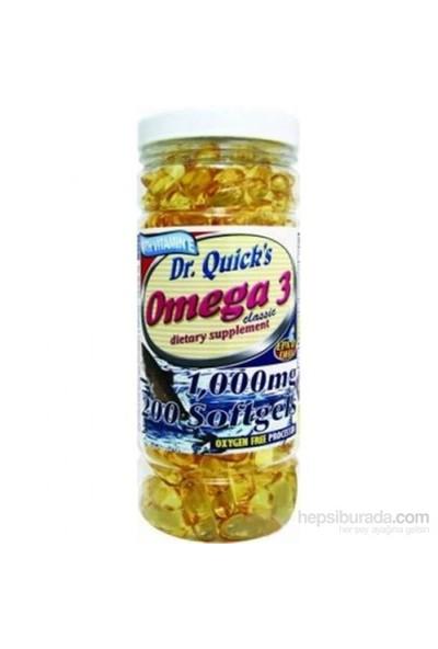 Dr. Quick's Omega 3 200 Softgel