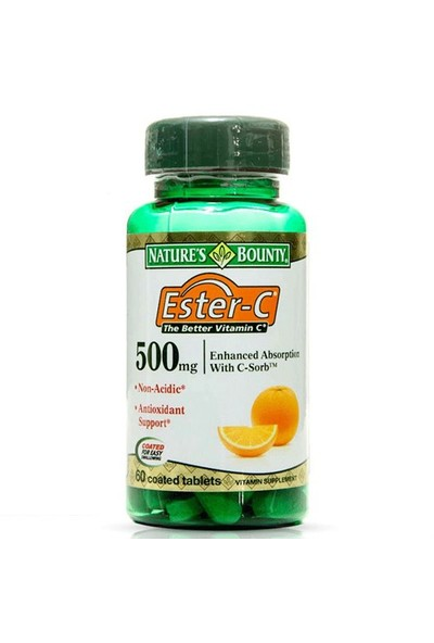 Nature's Bounty Ester-C 500 Mg 60 Tablet