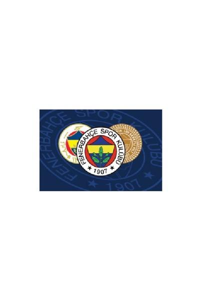 Fenerium 90X135 Üç Logolu Elde Sallama Bayrak