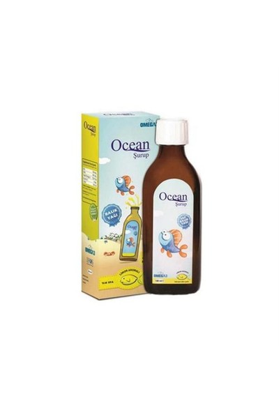 Ocean Plus Şurup Limon 150 ml