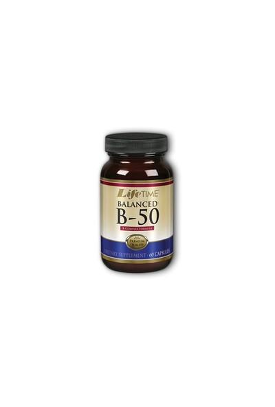 Life Time Nutrition B-50 Vitamini 60 Capsules