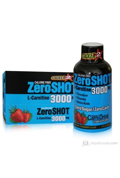Stacker 2 Zero Shot L Carnitine 3000 60ml x 12 Şişe