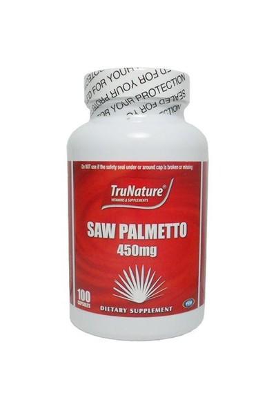 TruNature Saw Palmetto 450MG 100 Kapsül