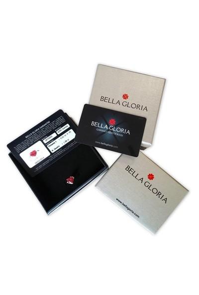 Bella Gloria Yıldız Tektaş Altın Küpe (Pe78384)