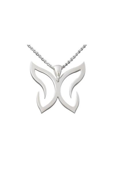 ASHYL Kelebek Gümüş kolye HYL8902
