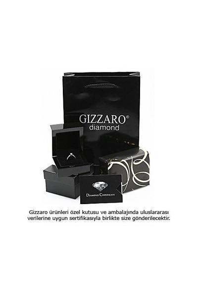 Gizzaro 0.08 Karat (H) Rengi Pırlanta Kalp Yüzük gmz134