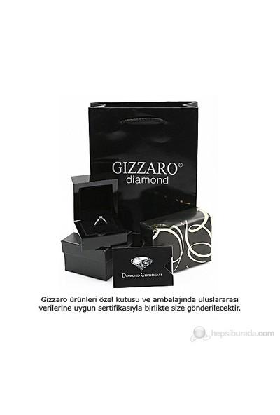 Gizzaro 0.25 Pırlanta Safir Yüzük GZY075