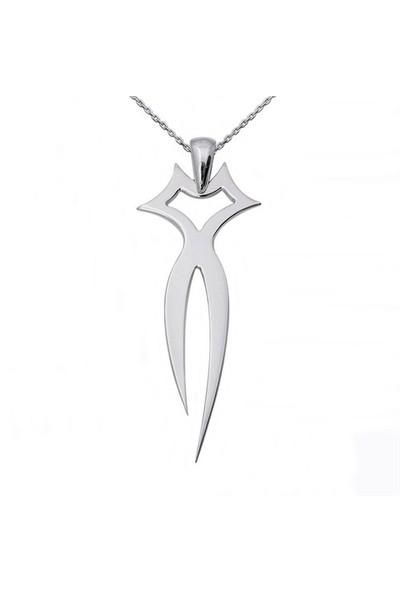 Ashyl Kedi Gümüş Kolye AS8903