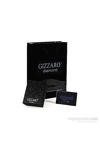 Gizzaro 0.05 Karat Pırlanta 1.25 Mavi Topaz Kolye gzkl128