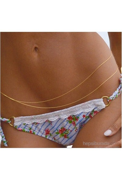 Takıcadde 2015 Yeni Yaz Trendi Bel Vücut Bikini Zinciri