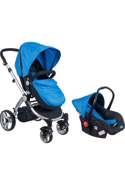 Maller Valentina Travel Sistem Bebek Arabası - Mavi