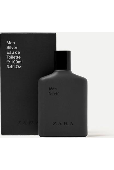 Zara Man Silver Eau De Toilette 100 Ml