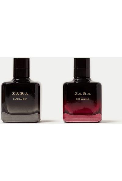 Zara Red Vanilla Eau De Toilette 100 Ml + Zara Black Amber Eau De Toilette 100 Ml