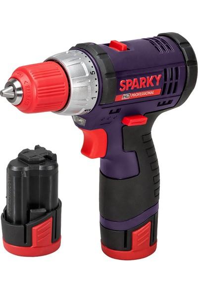 Sparky Akülü Delme Vidalama Br2 10.8Li C HD