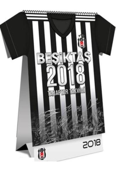 Beşiktaş 2018 Forma Kesimli Taraftar Masa Takvimi