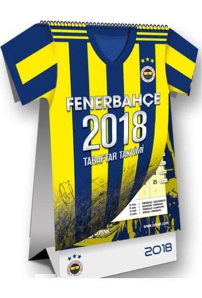 Fenerbahçe 2018 Forma Kesimli Taraftar Masa Takvimi