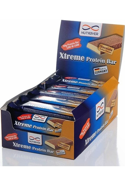 Nutrever Xtreme Protein Bar 50 Gr 24 Adet Çikolata