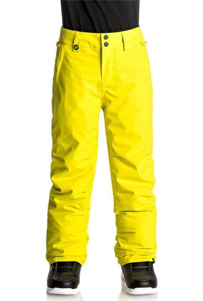 Quiksilver Sarı Kayak Pantolonu Eqbtp03013-Gpp0