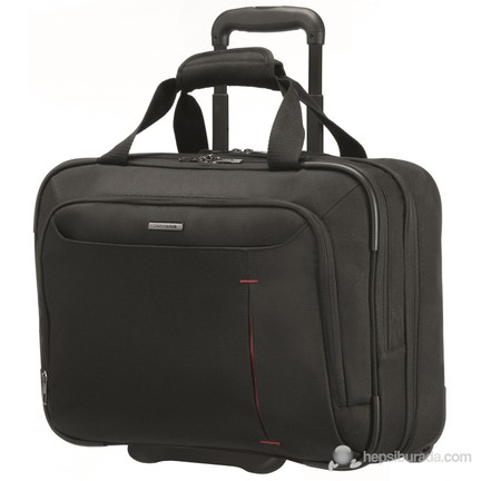 eef03ea651a8f Samsonite Guard IT Çekçekli Siyah Notebook Çantası (88U-09-008)