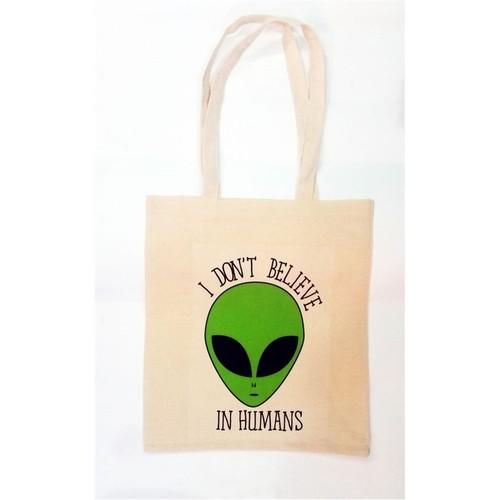 Köstebek Alien - I Don't Believe In Humans Bez Çanta