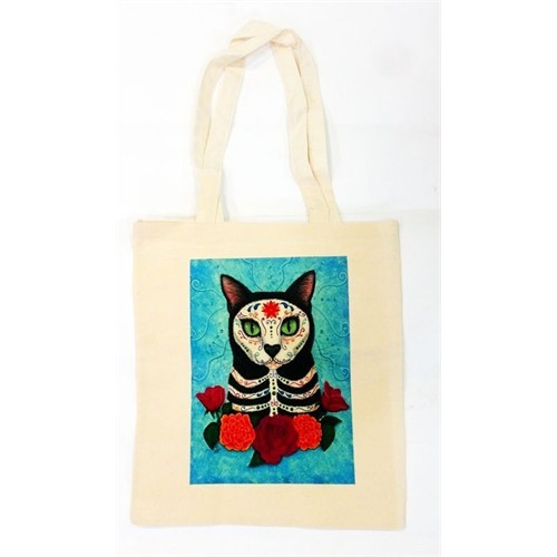 Köstebek Art Cat Bez Çanta
