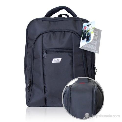 """M&W Business 15.6"""" Siyah Notebook Sırt Çantası + MW Optik Kablolu Mouse Hediye"""